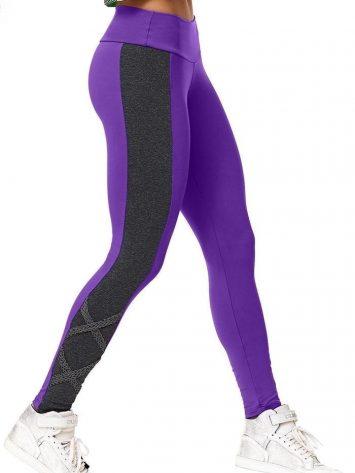 CAJUBRASIL 5938 Sexy Leggings Brazilian Street Purple