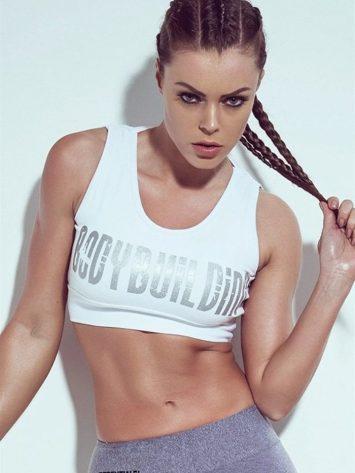 SUPERHOT Sexy Workout Tops Cute Yoga Sport Bra TOP745