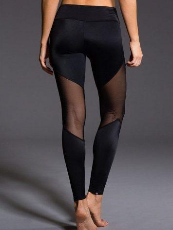 ONZIE 223 Sexy Workout Leggings Yoga Mesh Leggings