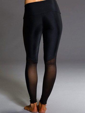 ONZIE 294 Fierce Sexy Yoga Mesh Stripe Workout Leggings