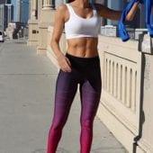 ULTRACOR Leggings High Silk Zig Zag Pixelate Leggings - Sexy Workout Clothes Yoga Leggings