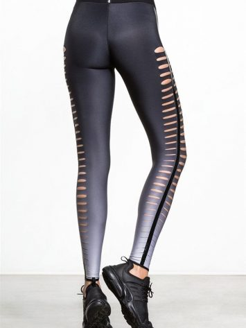 ULTRACOR Leggings Slash Sexy Workout Clothes Yoga Leggings White