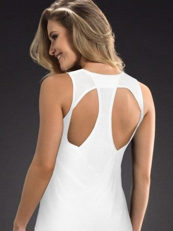 OXYFIT Tank Top Upon 46330 WH- Sexy Workout Tops