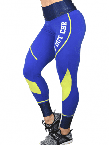 CAJUBRASIL Leggings 9065 Workout Sexy Leggings Brazilian Royal