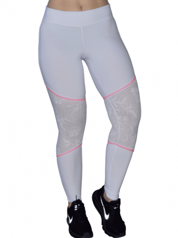 COLCCI FITNESS Leggings Sexy Texture Mesh Leggings