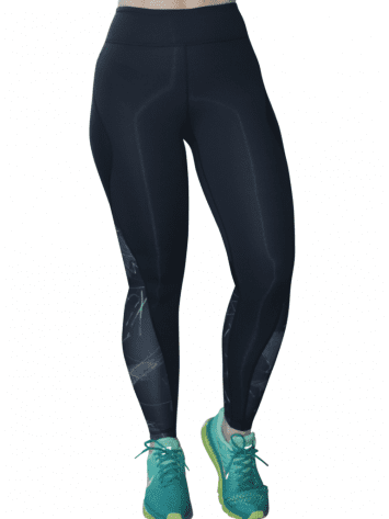ALALA Leggings Edge Ankle Tight in BK Jagged Sexy Workout Tights