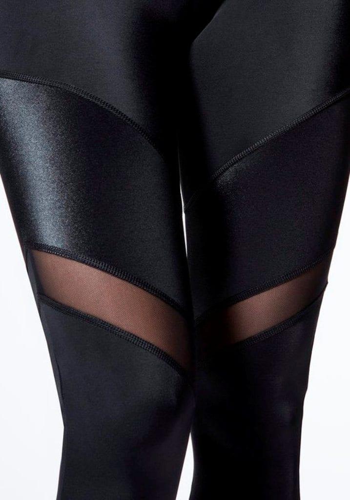 L'URV Leggings ESSENTIAL TIE 3/4 LEGGING Black Sexy Workout Tights