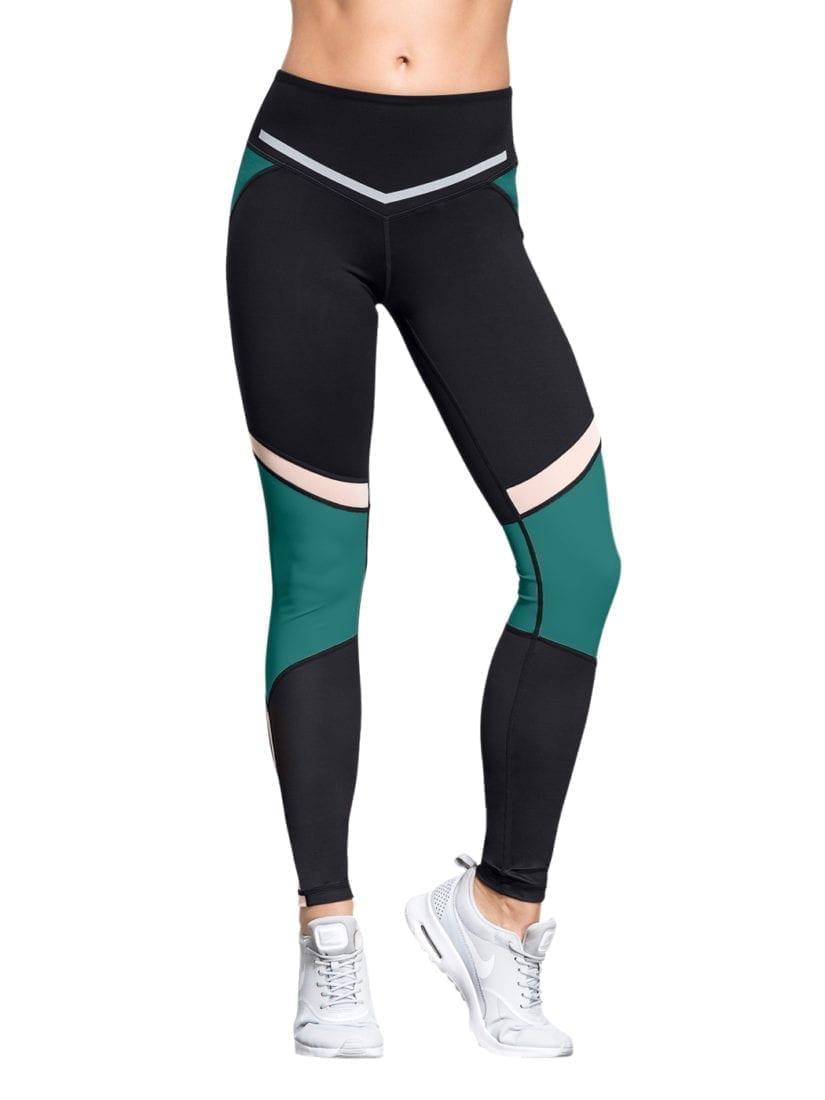 L'URV Leggings I Am a Dreamer Emerald Sexy Workout Tights