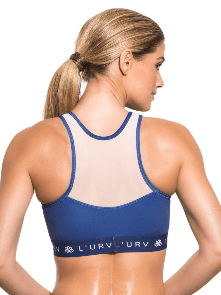 L'URV You Are the One Crop Sexy Workout Top