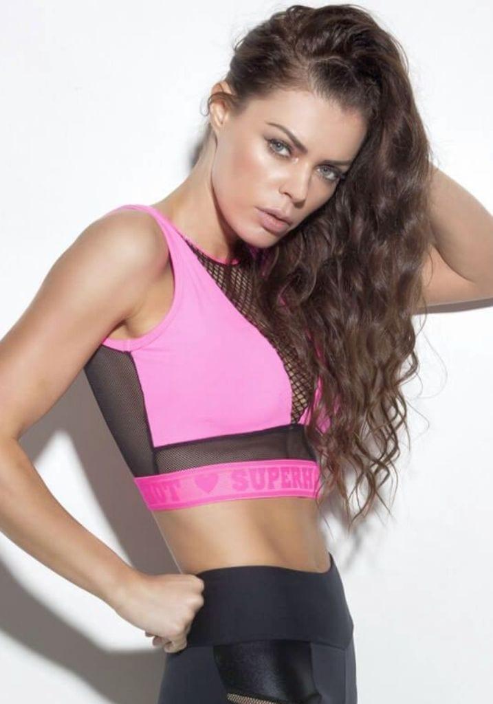 SUPERHOT Bra TOP1285  SEXY Workout Tops Cute YOGA Sport Bra Steady