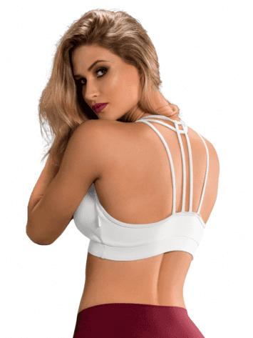 OXYFIT Bra Top Cutouts 27089 White - Sexy Sports Bras
