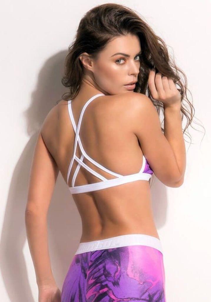 SUPERHOT Sports Bra TOP1342 Heat Move Cute Yoga Sport Bra