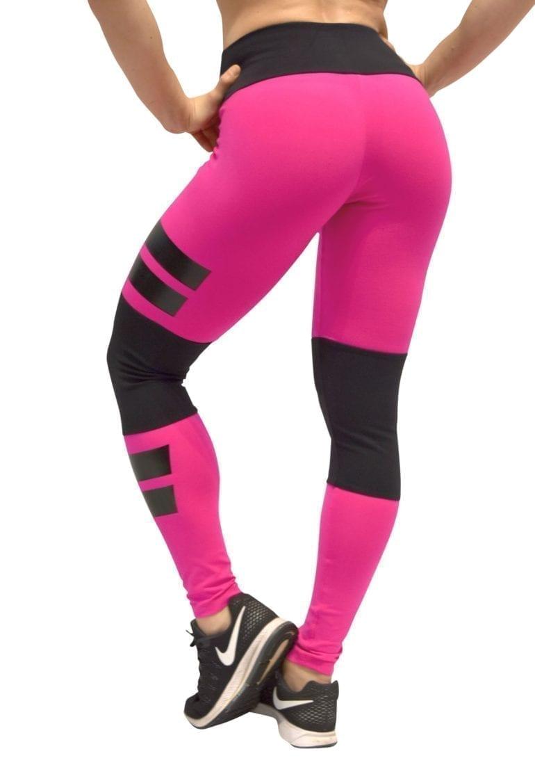 OXYFIT Leggings Santorini 64081 Hot Pink - Sexy Workout Leggings