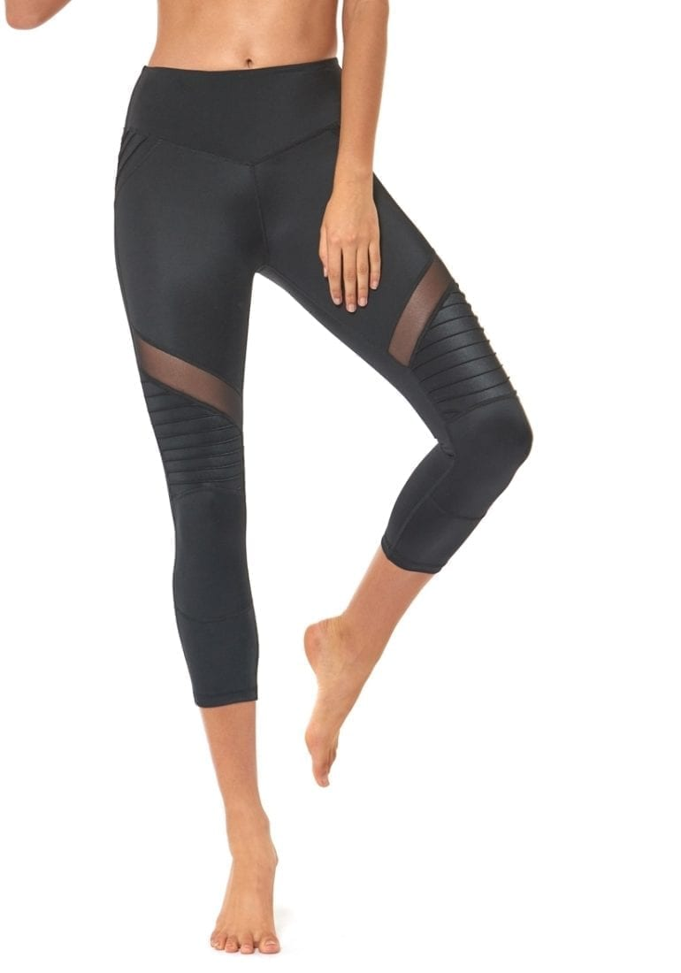 Freddy 3//4 Gym Trousers Yoga Pants Black Size XS