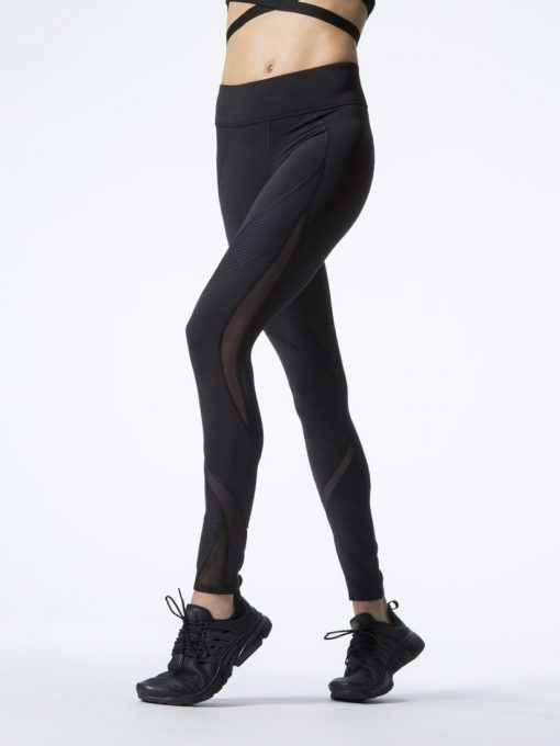 MICHI Legging SPIRE Leggings Black Sexy Workout Tights