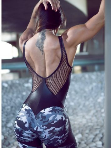 DYNAMITE Jumpsuit ML2094 Apple Booty Camo - Sexy One-Piece Romper