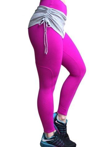 CAJUBRASIL Leggings 5238 Hot Pink- Cute Workout Leggings-Brazilian