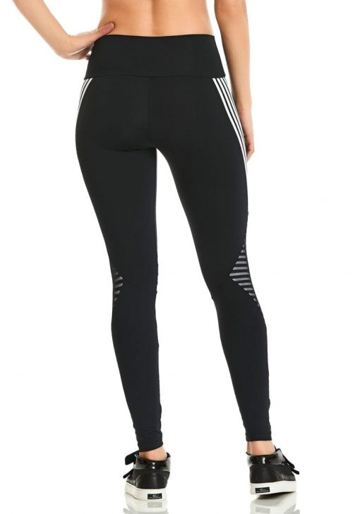 CAJUBRASIL Leggings 9646 Black- Cute Workout Clothes-Brazilian
