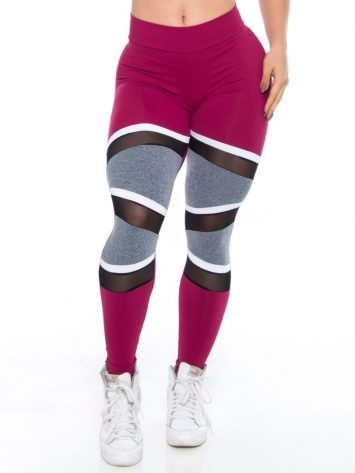 BOMBSHELL Leggings Brazil Fit Doll Marsala - Sexy Leggings