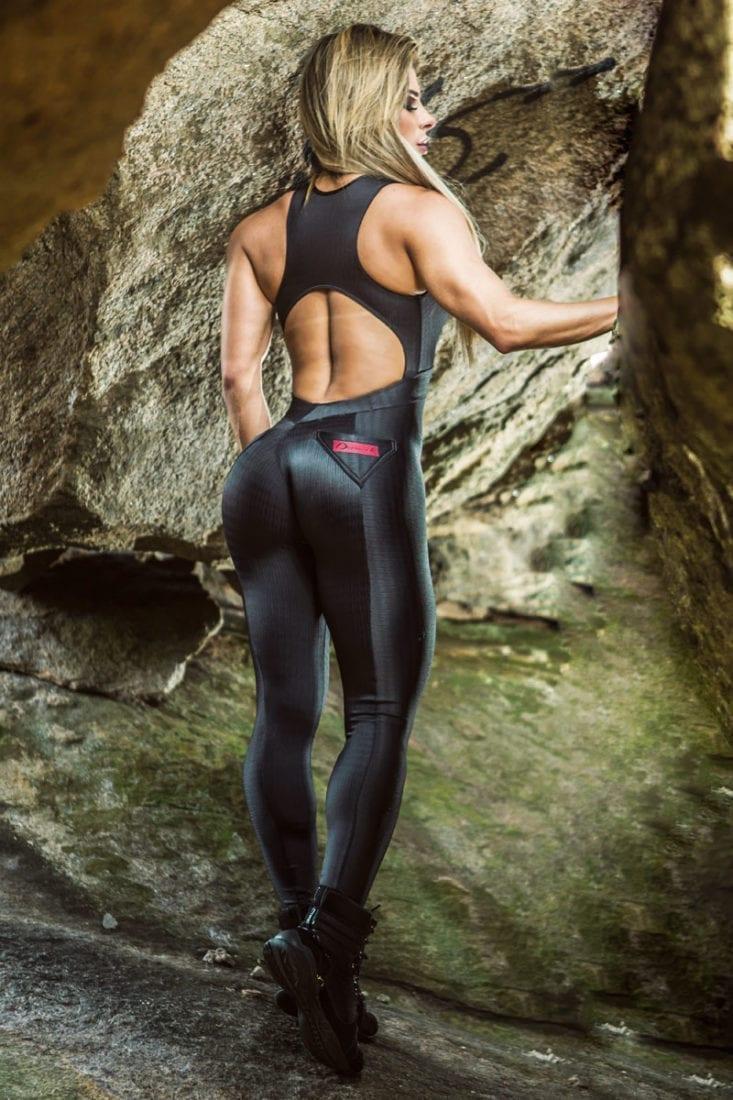 DYNAMITE Jumpsuit ML2092 Black Lava-Sexy One-Piece Romper