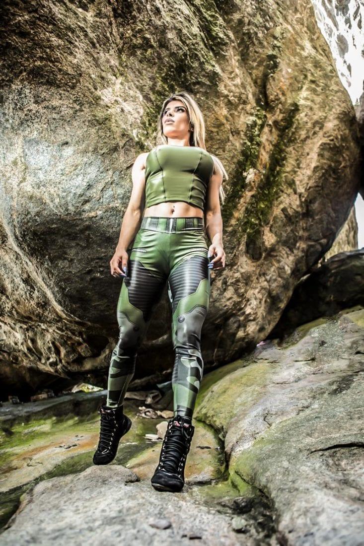 DYNAMITE BRAZIL Leggings L400 JUNGLE SOLDIER-Sexy Workout Legging