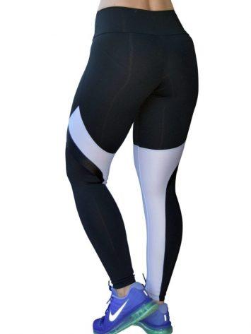 OXYFIT Leggings View 64153 Black- Sexy Workout Leggings