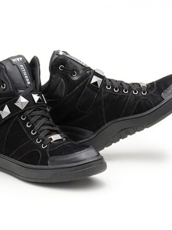 MVP Fitness Hard Fit 70102 Black Workout Sneakers