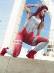 Dynamite Brazil Jumpsuit - one piece - mercury red ML2080