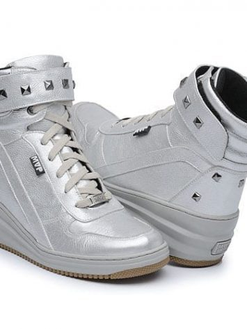 MVP Fitness New Loft 70113 Silver Workout Sneakers