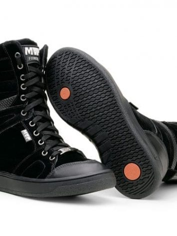 MVP Fitness Boot Training 70110 Black Workout Sneakers