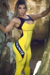 DYNAMITE Jumpsuit Macacao ML2018 Yellow -Sexy One-Piece Romper