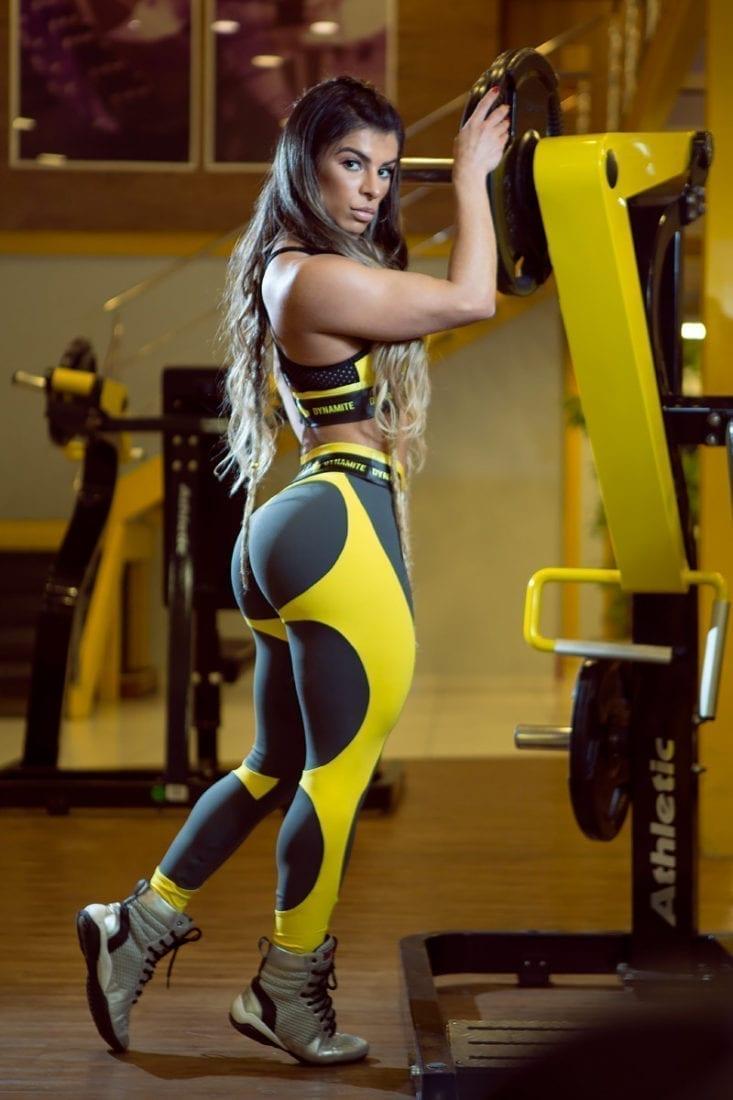 DYNAMITE Brazil Leggings L2094 APPLE Booty Splendid -Sexy Workout Leggings