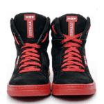 MVP Strong 80202 Black Red Workout Sneakers
