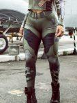 Dynamite Brazil Leggings - Jungle Soldier