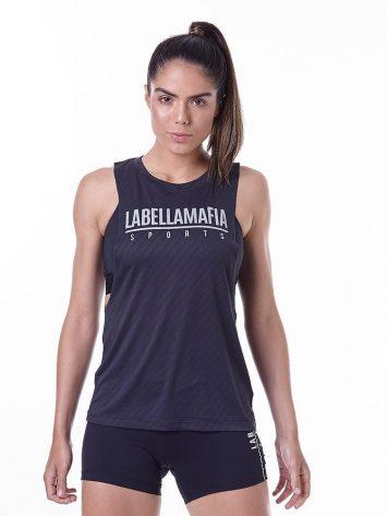 LabellaMafia Essentials LBM Black Tank Top – FBL13910