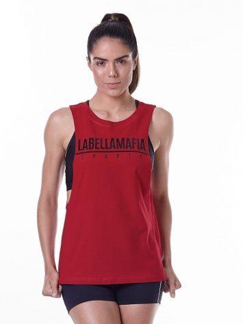 LabellaMafia Essentials LBM Red Tank Top – FBL13889