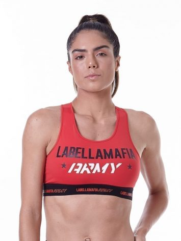 LabellaMafia Army Fitness Sports Bra Top – FTP13844