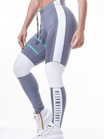 LabellaMafia Pastels Gray Legging – FCL13812