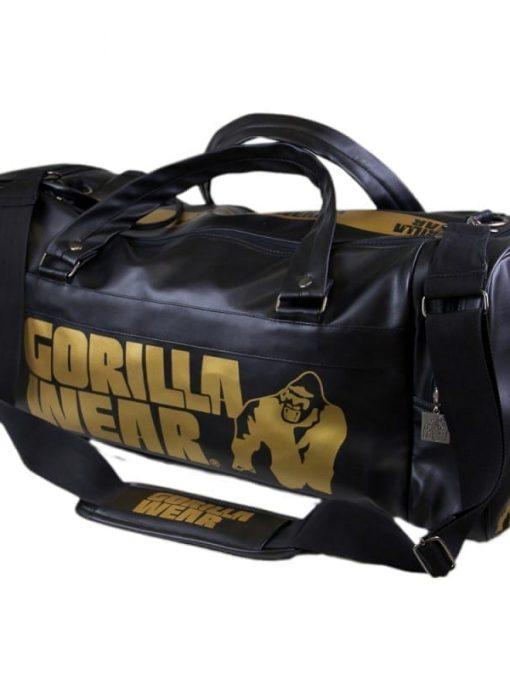 Gorilla Wear Gym Bag - Black/Gold