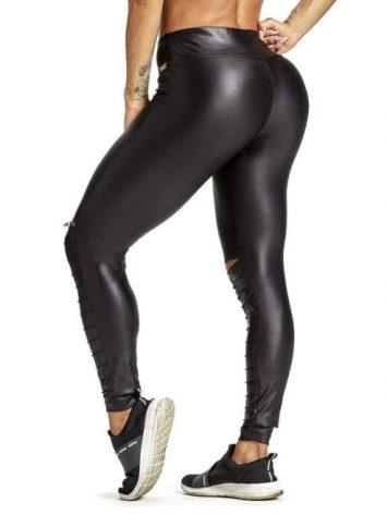 OXYFIT Leggings Frieze 64223 Black – Sexy Workout Leggings