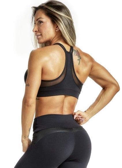 OXYFIT Sports Bra Top Iron - 27229 Black - Sexy Sports Bra