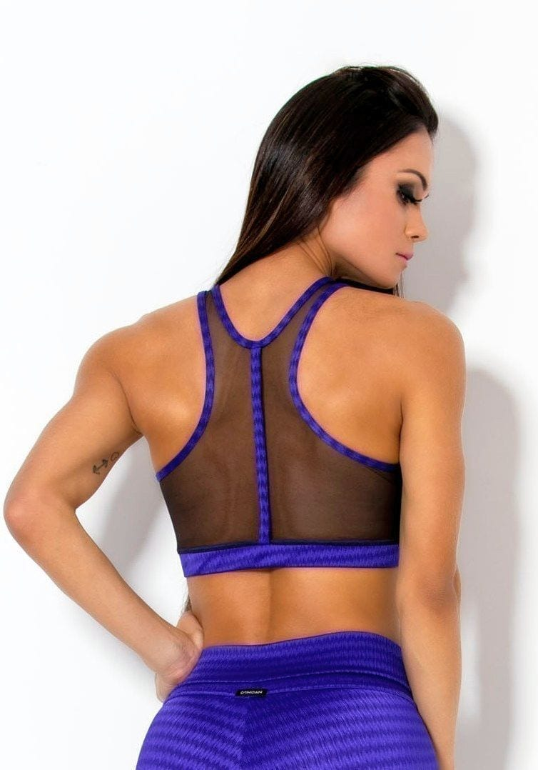 CANOAN  Sports Bra TOP 70030 Purple Sexy Workout Tops