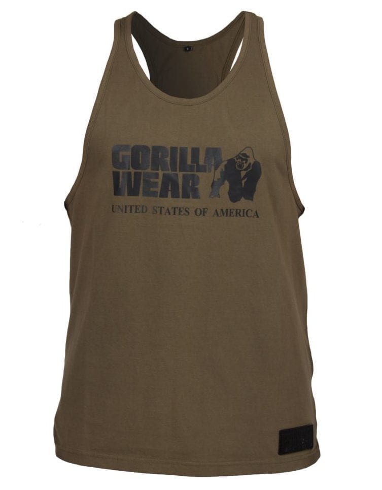 Gorilla Wear Classic Tank Top - Army