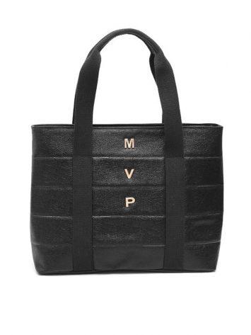 MVP Fitness Gear - Fitness Style Bag - Black