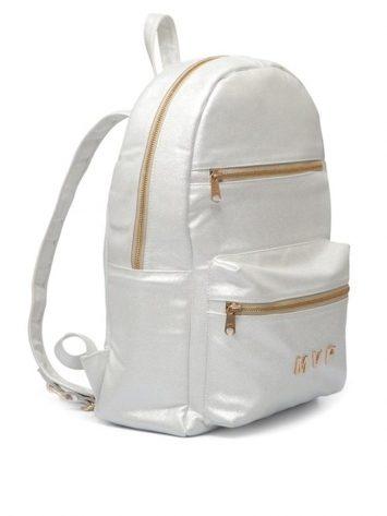 MVP Fitness Club Fashion Backpack – white