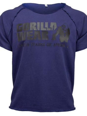 Gorilla Wear Classic Work Out Top – blue
