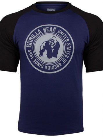 Gorilla Wear Texas T-shirt – Navy-Black