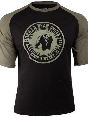 Gorilla Wear Texas T-shirt – Army-Blacky-green-3.png