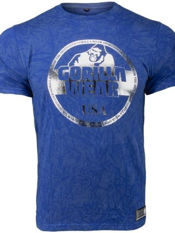 Gorilla Wear Rocklin T-Shirt – blue