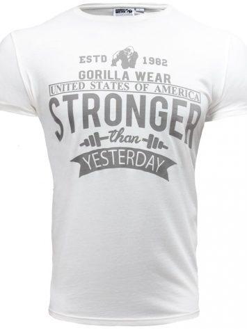 Gorilla Wear Hobbs T-shirt – white